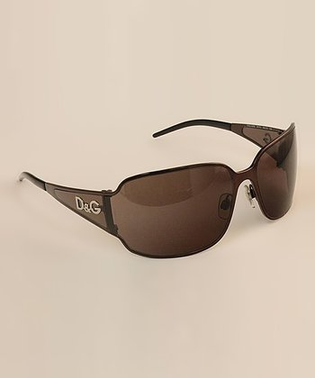 Brown Tapered Sunglasses