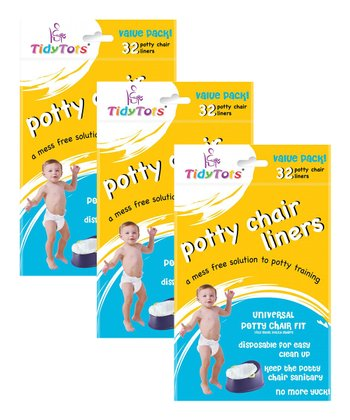 Potty Chair Liners Value Pack - Set of Three