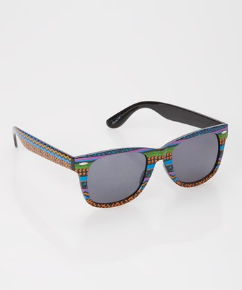 Orange Tribal Sunglasses