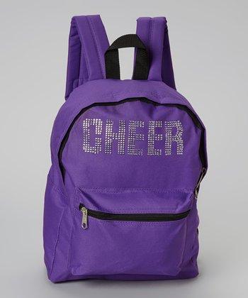 Purple 'Cheer' Backpack
