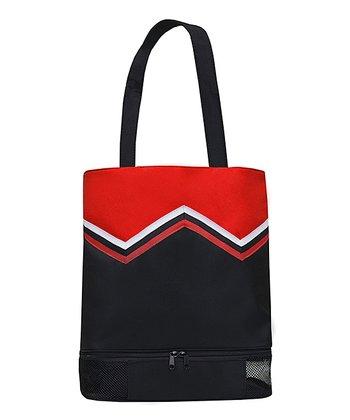 Sassi Designs Red & Black Cheer Uniform Tote