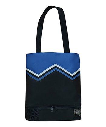 Sassi Designs Royal & Black Cheer Uniform Tote