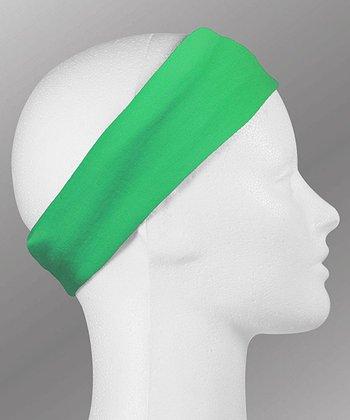 ChalkTalkSPORTS Green RokBAND Running Headband