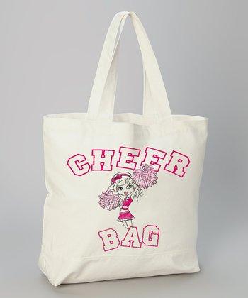 White 'Cheer Bag' Tote