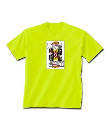 ChalkTalkSPORTS Safety Neon King of Lacrosse Tee - Boys