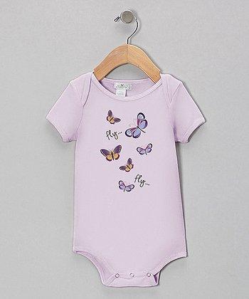 Truffles Ruffles Violet Butterfly Bodysuit