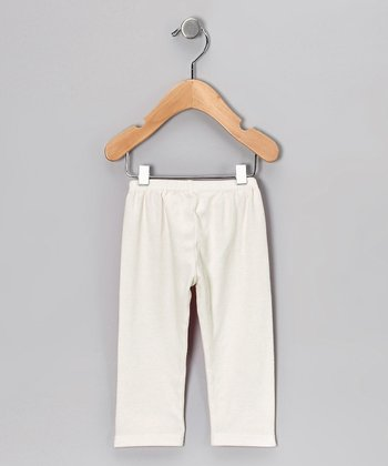 Truffles Ruffles Ivory Pants