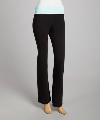 Black & Aqua Lounge Pants