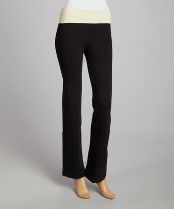 Black & Taupe Lounge Pants