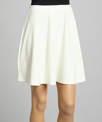 Ivory Seamless Skirt
