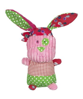 Pink Maties Bandanna Rabbit Plush Toy