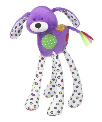 GANZ Purple Lookie-Loo Dog Plush Toy