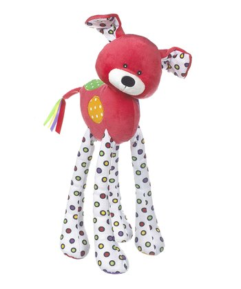 GANZ Red Lookie-Loo Dog Plush Toy
