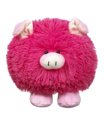 Pink Mayhem Zoo Pig Plush Toy