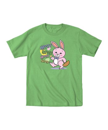 Grass Hippity Hop Bunny Tee - Infant, Toddler & Kids