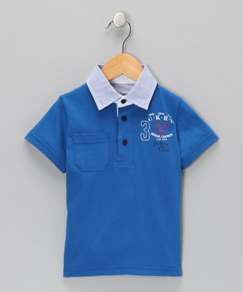 Azure Polo - Toddler & Boys