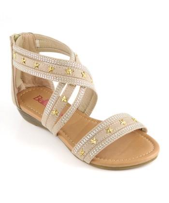 Bella Marie Beige Star Sandal