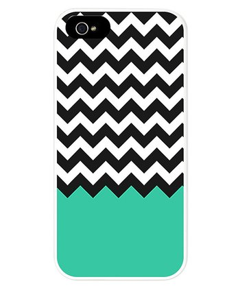 Black & Blue Zigzag Case for iPhone 5/5s