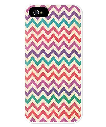 Purple & Pink Vintage Zigzag Case for iPhone 5/5s