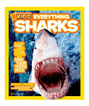 Everything Sharks Paperback