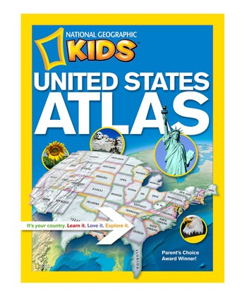 Kids United States Atlas Paperback