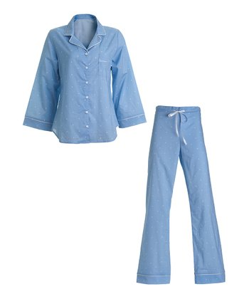 Chambray Dot Pajamas