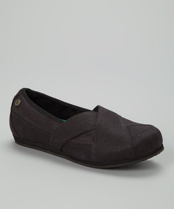 Black Sport Slip-On Shoe