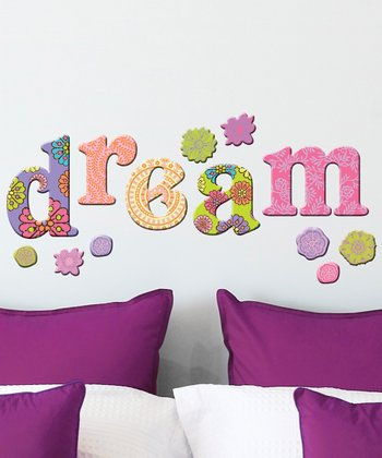 Indie 'Dream' Wall Decal Set