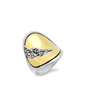 Gold Flourish Ring