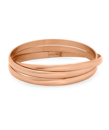 Rose Gold Linked Bangle
