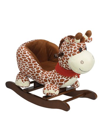 Giraffe Carriage Seat Rocker