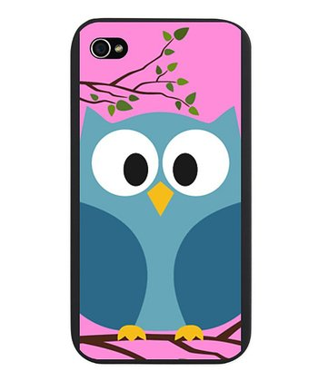 Cute Owl Snap-On Case for iPhone 4/4s