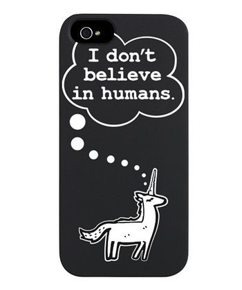 'I Don't Believe in Humans' Case for iPhone 5/5s