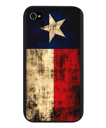 Distressed Texas Flag Snap-On Case for iPhone 4/4s