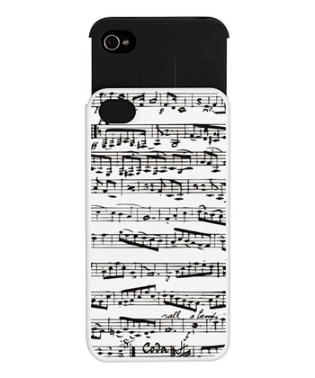 Music Notes Wallet Case for iPhone 4/4s