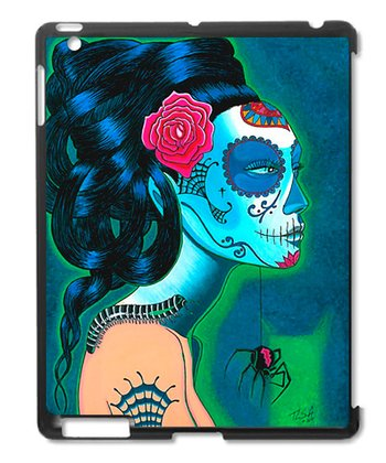 Sugar Skull Woman Case for iPad 2