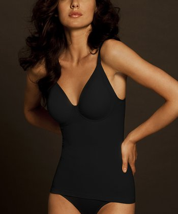 Black Seamless Shaper Camisole - Women