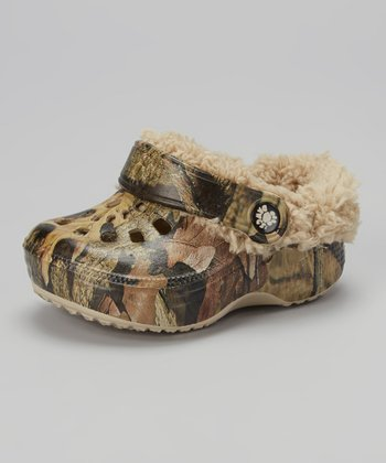 Mossy Oak Fleece Clog