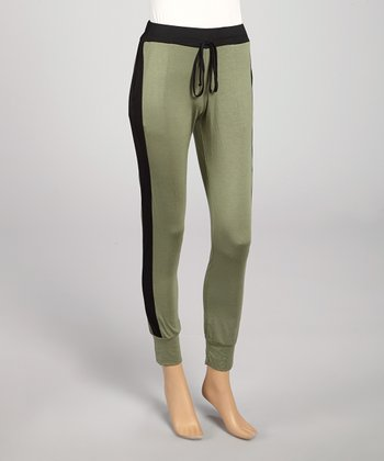 Olive & Black Lounge Pants