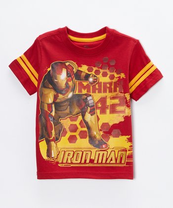Red Iron Man 'Mark 42' Tee - Toddler