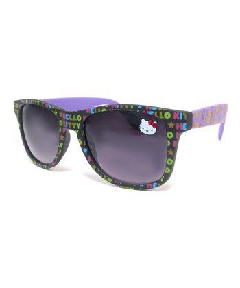 Hello Kitty Purple Hello Kitty Name Sunglasses