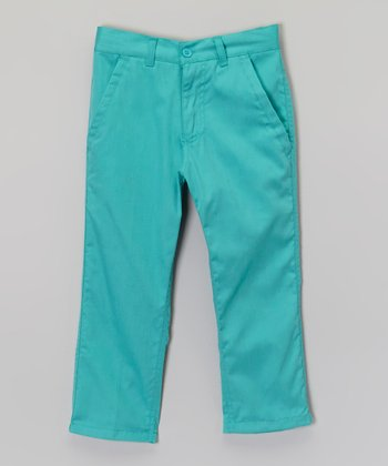 Mint Chino Pants - Toddler & Boys