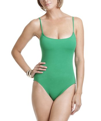 Kelly Green Camisole One-Piece