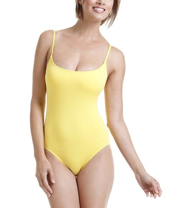 Yellow Camisole One-Piece