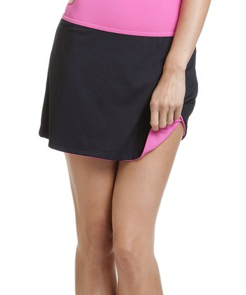 Black & Pink Reversible Cover-Up