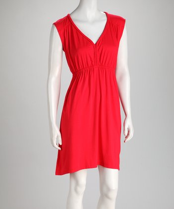 Poppy Braid V-Neck Dress