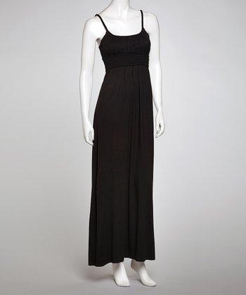 Black Braided Maxi Dress