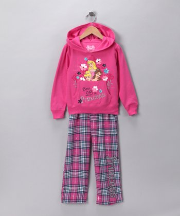 Pink Princess Hoodie & Pants - Girls