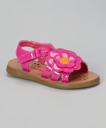Josmo Fuchsia Floral Sandal