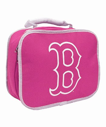 Boston Red Sox Pink Lunch Break Lunch Box